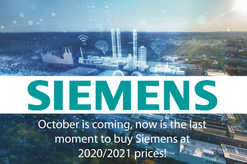 SIEMENS prices of 2020/2021 fiscal year